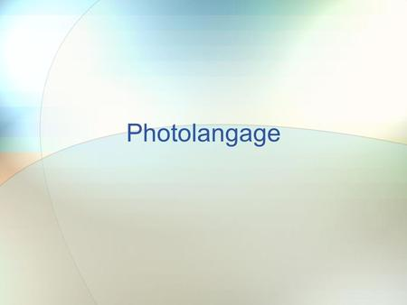 Photolangage.
