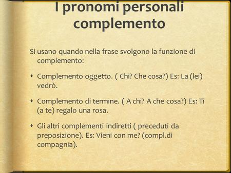 Complemento a chi