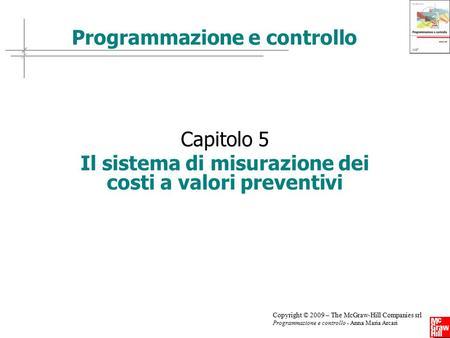 Topic 15 1 programmazione e controllo l analisi degli for Programmazione e gestione dei servizi educativi
