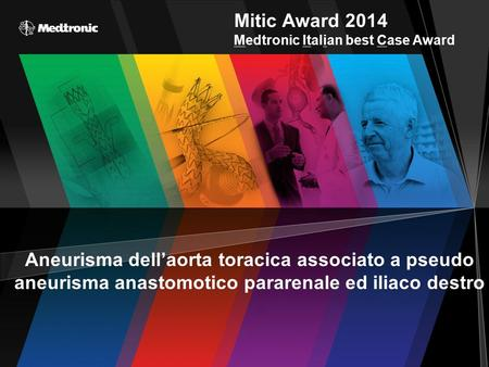 Mitic Award 2014 Medtronic Italian best Case Award