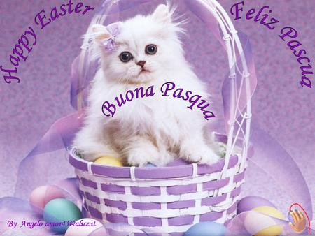 Happy Easter Feliz Pascua Buona Pasqua By Angelo amor43@alice.it.