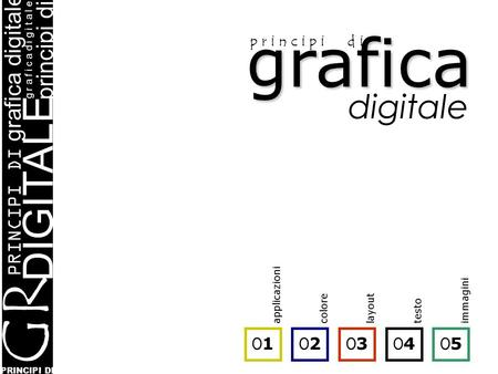 PRINCIPI DI grafica digitale