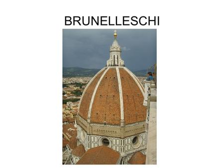BRUNELLESCHI. VIDEO DEL NATIONAL GEOGRAPHIC SULLA CUPOLA DI BRUNELLESCHI.