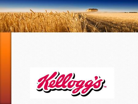 1. » 1906→ W.K. KELLOGG fonda the Battle Creek Toasted Corn, futura Kellogg Company; » 1914→ i Kellogg da New York arrivano in Canada, a seguire in Australia.