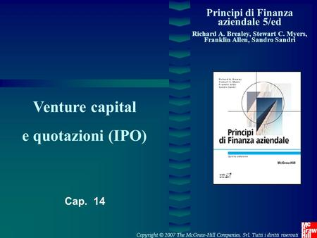 Venture capital e quotazioni (IPO)