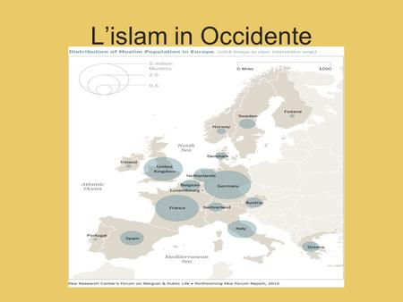 L'islam in Occidente.