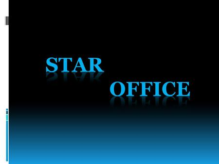 Star Office è una suite di software di produttività personale commercializzata da Sun Microsystems. StarOffice nasce come software commerciale sviluppato.
