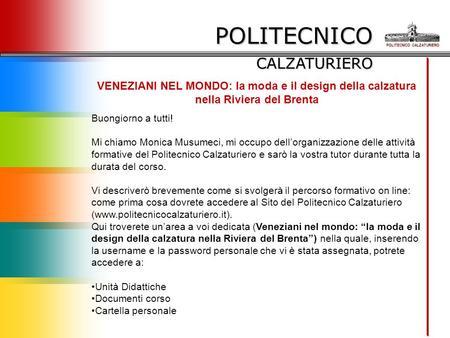 Cams s a s di corda ing federico via grange palmero 110 for Design della moda politecnico milano opinioni