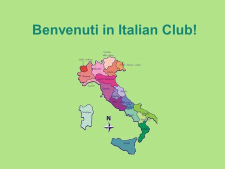 Benvenuti in Italian Club!. Who speaks Italian Language? More than 150 million people speak Italian language worldwide (about half are native speakers)