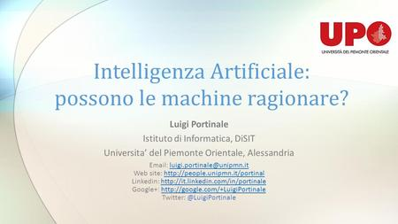 Intelligenza Artificiale: possono le machine ragionare?