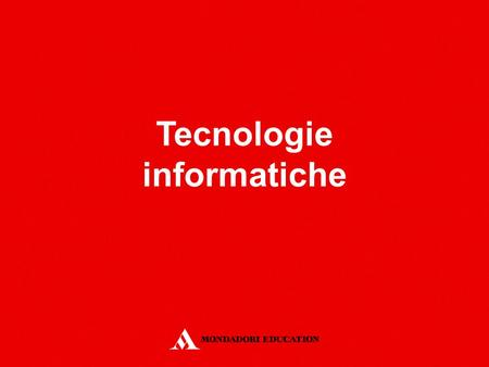 Tecnologie informatiche. Word 97-2003 DIGITA E MODIFICA.