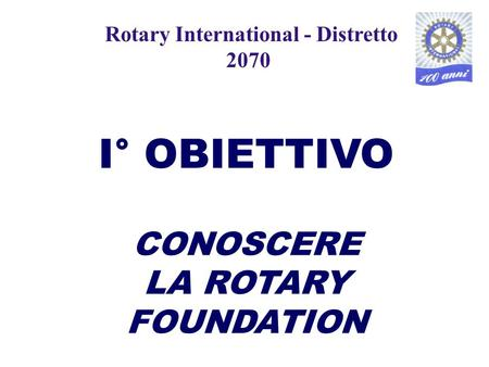 Rotary International - Distretto 2070
