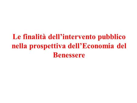 Cosa intendere per efficienza?