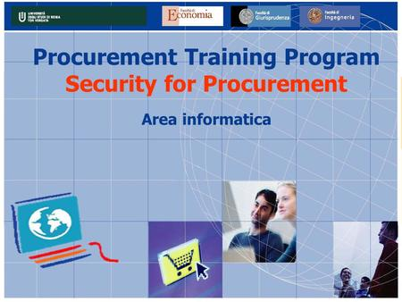 Procurement Training Program Security for Procurement Area informatica.