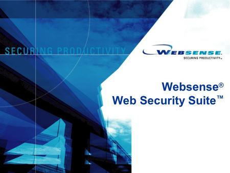 Websense ® Web Security Suite ™. 2 Agenda  Websense, l'azienda  Le nuove minacce del web  Websense Web Security Suite  Domande.