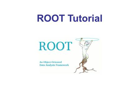 ROOT Tutorial.
