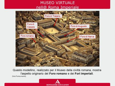 MUSEO VIRTUALE Roma Imperiale