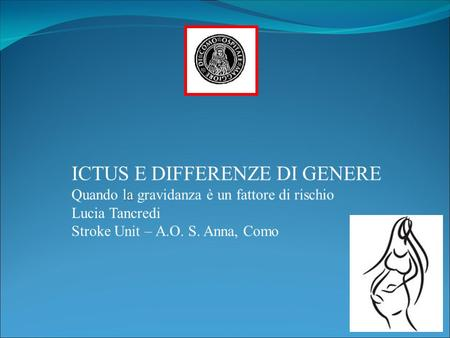 ICTUS E DIFFERENZE DI GENERE