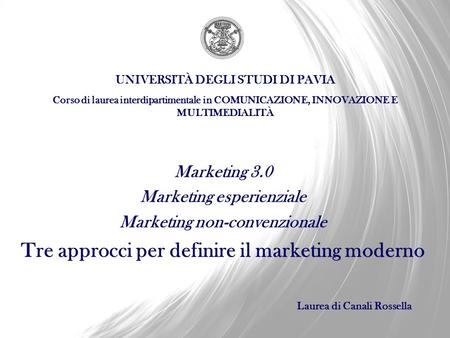 Tre approcci per definire il marketing moderno