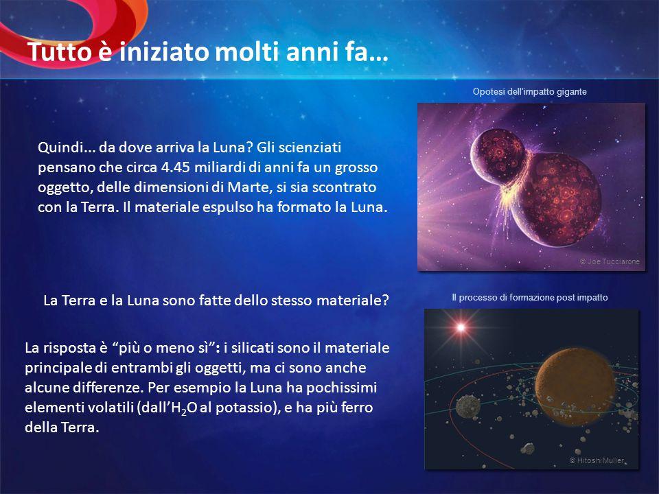 A causa della sua debole attrazione gravitazionale, la Luna non ha unatmosfera e la pressione è troppo bassa per permettere la presenza di liquidi sulla sua superficie.