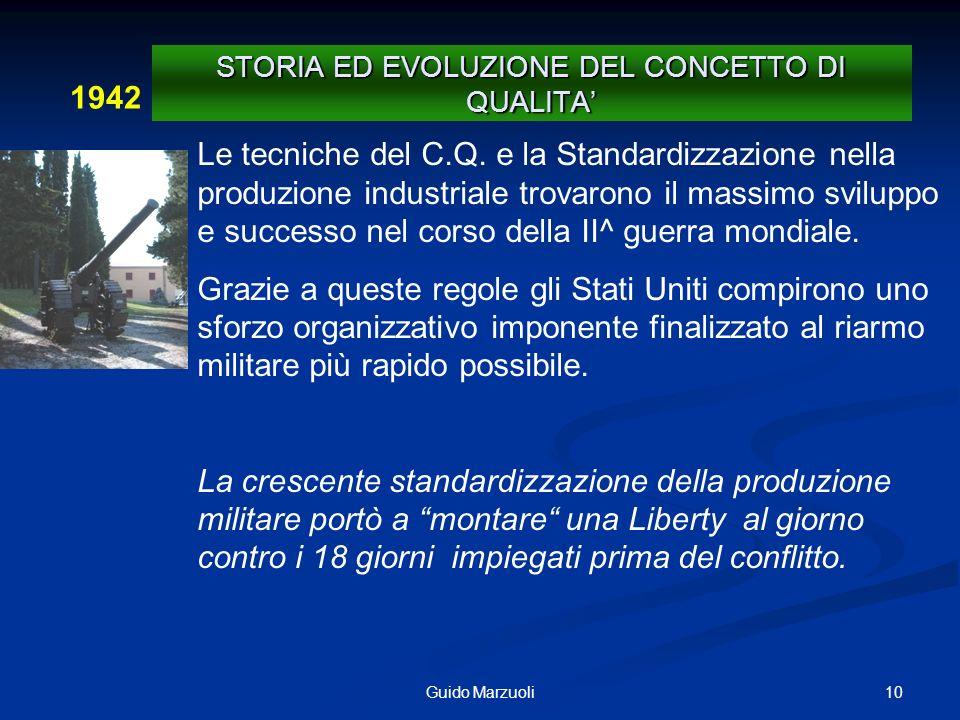 11 Guido Marzuoli Era della grande crescita economica e della crisi petrolifera.