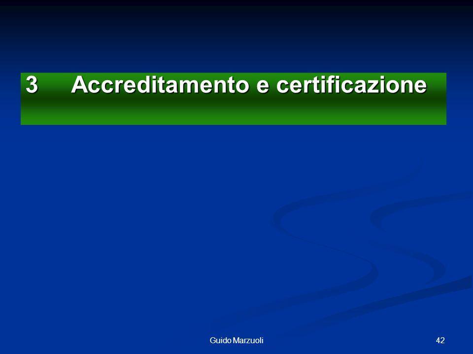 43Guido Marzuoli I sistemi a garanzia della Qualità Modelli Generali Accreditamento,Norme ISO EFQM (EU),Balanced Score Card Risk Management, TQM Ecc..