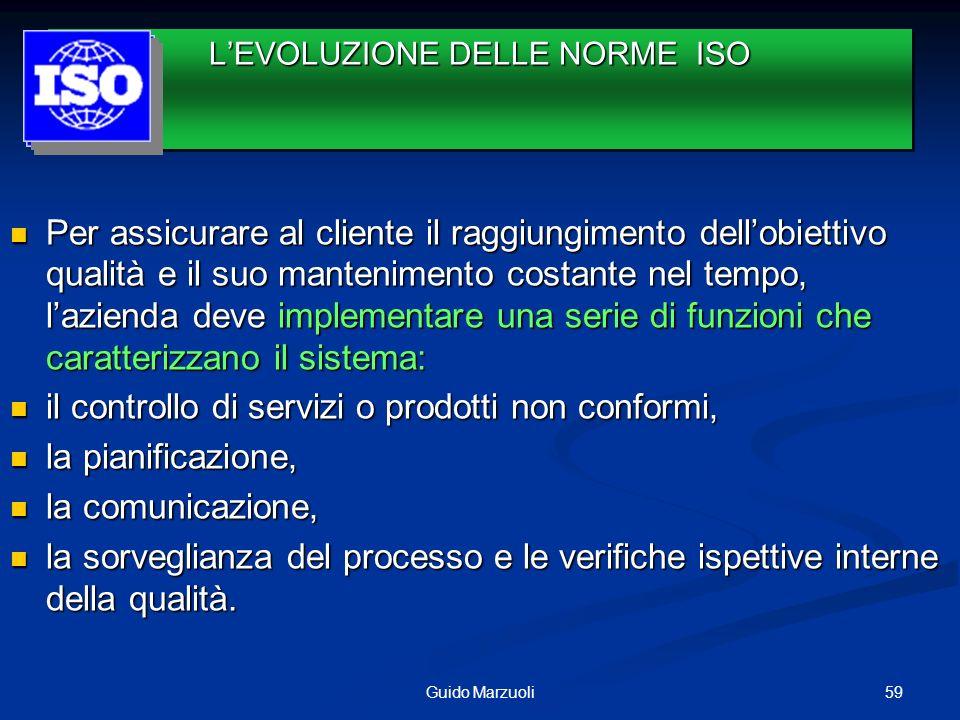 Le vecchie norme (rev 0 87-rev 1 94) ISO 9001miravano solo a garantire la conformità dei prodotti/servizi ai requisiti prestabiliti.