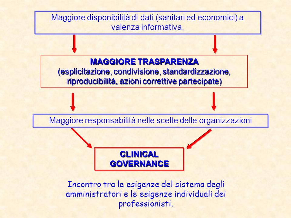 Cosè la Clinical Governance.…What is Clinical Governance.