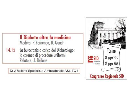 Dr J Bellone Specialista Ambulatoriale ASL-TO1.