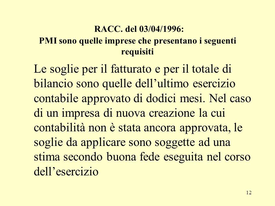 13 RACC.