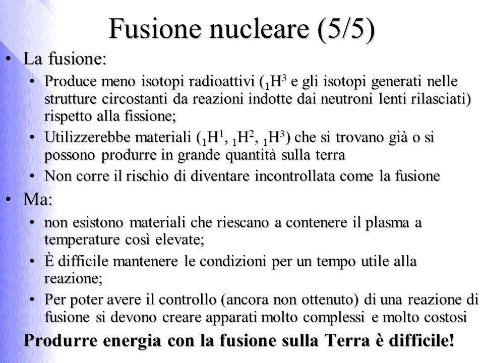 Gli effetti biologici delle radiazioni nucleari
