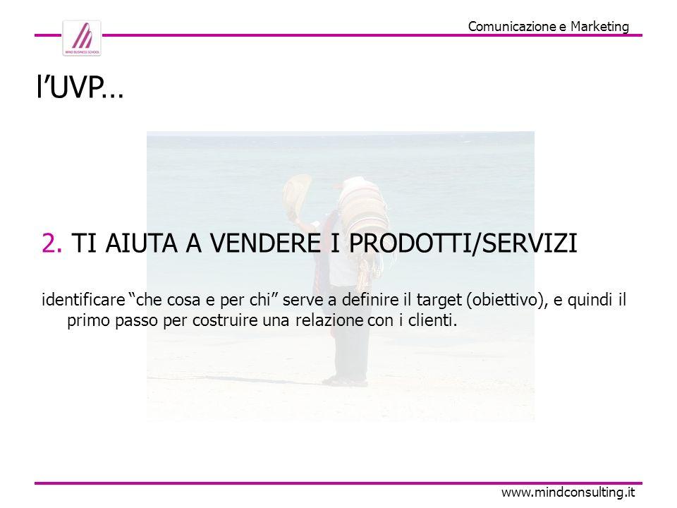 Comunicazione e Marketing www.mindconsulting.it lUVP… 3.