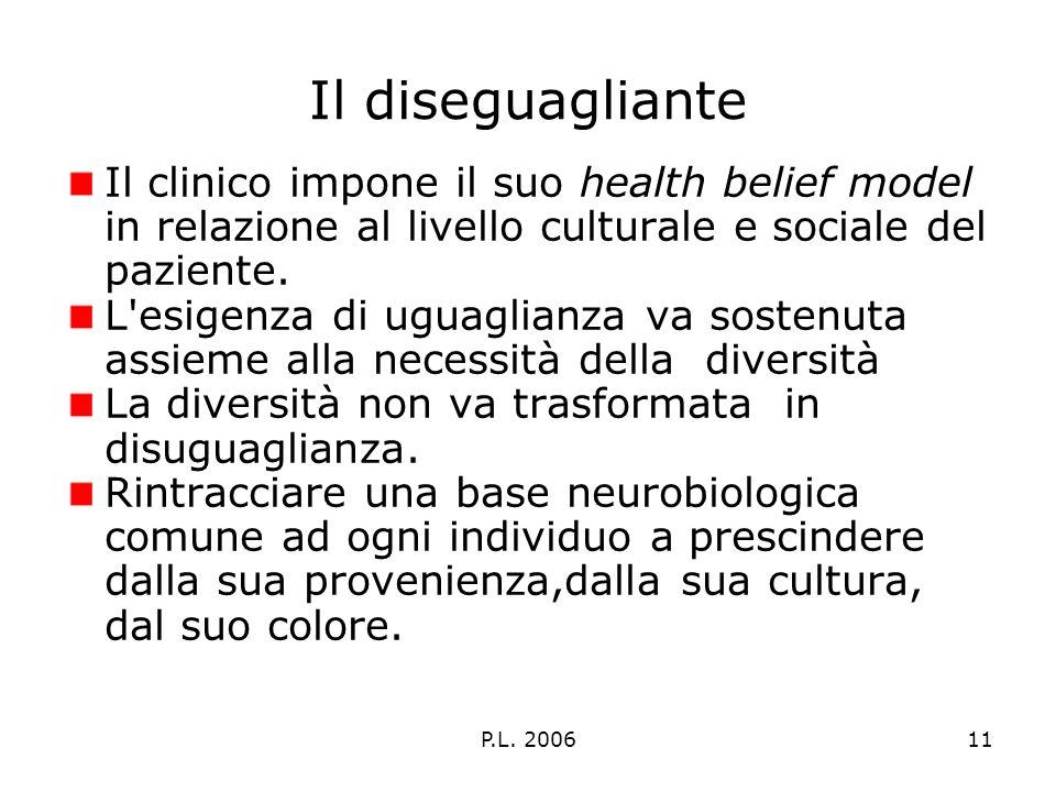 P.L. 200612 La base delluguaglianza