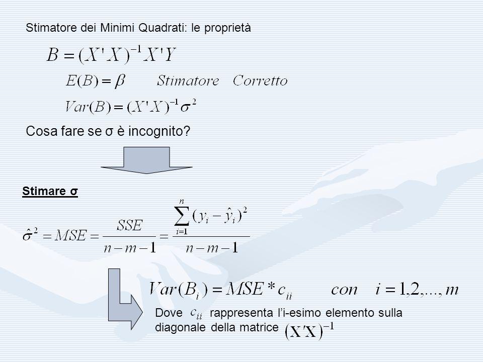 MISURE DI BONTA DEL MODELLO: INDICE DI DETERMINAZIONE LINEARE Nel modello di regressione multipla lindice di determinazione lineare può presentare alcuni problemi calcolatori e di interpretazione.