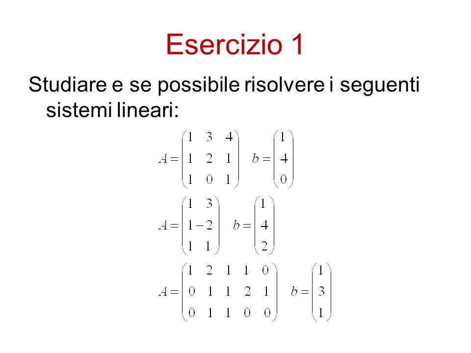 Fattorizzazione LU dove: è la matrice triangolare superiore (Up) ottenuta per pivotizzazione parziale; è, a meno di permutazione delle righe, triangolare inferiore (Low) con tutti 1 sulla diagonale.