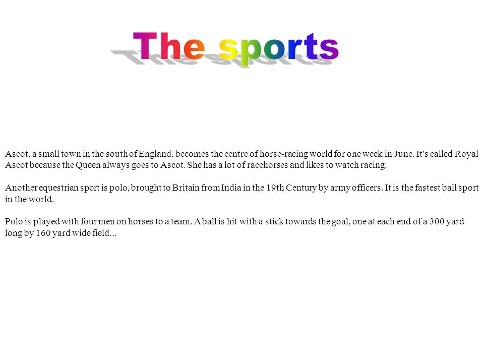 Il Cricket è uno sport divertente e bello.Il Cricket è uno sport inglese, praticato in quasi in tutto il mondo.