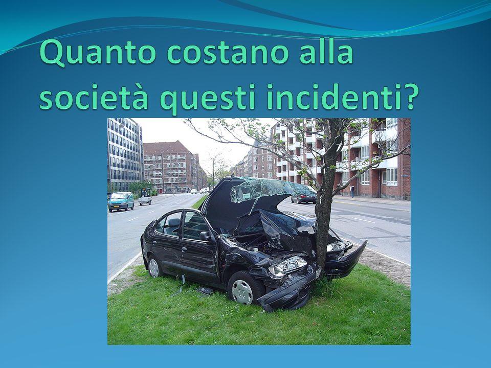 Calcolare il prezzo di un incidente stradale, specie se con vittime, è unoperazione molto complessa