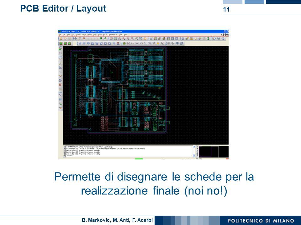 B.Markovic, M. Anti, F. Acerbi 12 Installiamo!. Installiamo la OrCad 16.2 Demo!!.