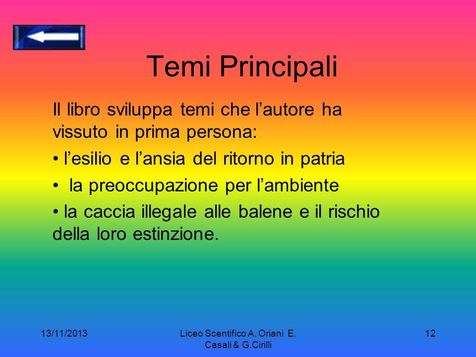 13/11/2013Liceo Scentifico A.Oriani E.