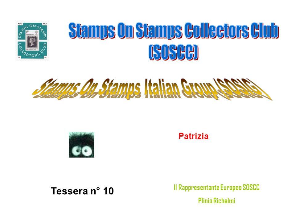 Fabio Avallone Napoli Tessera n° 11 Il Rappresentante Europeo SOSCC Plinio Richelmi