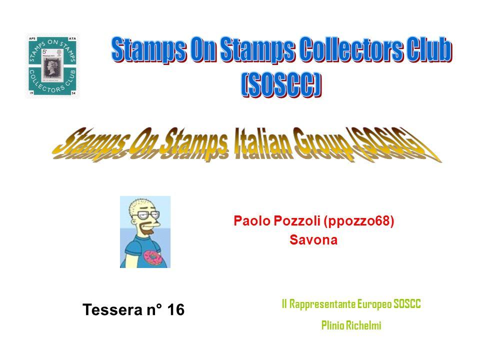 Marco (occio) ROMA Tessera n° 17 Il Rappresentante Europeo SOSCC Plinio Richelmi