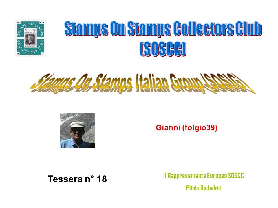 Filippo Russi (RA) Tessera n° 19 Il Rappresentante Europeo SOSCC Plinio Richelmi