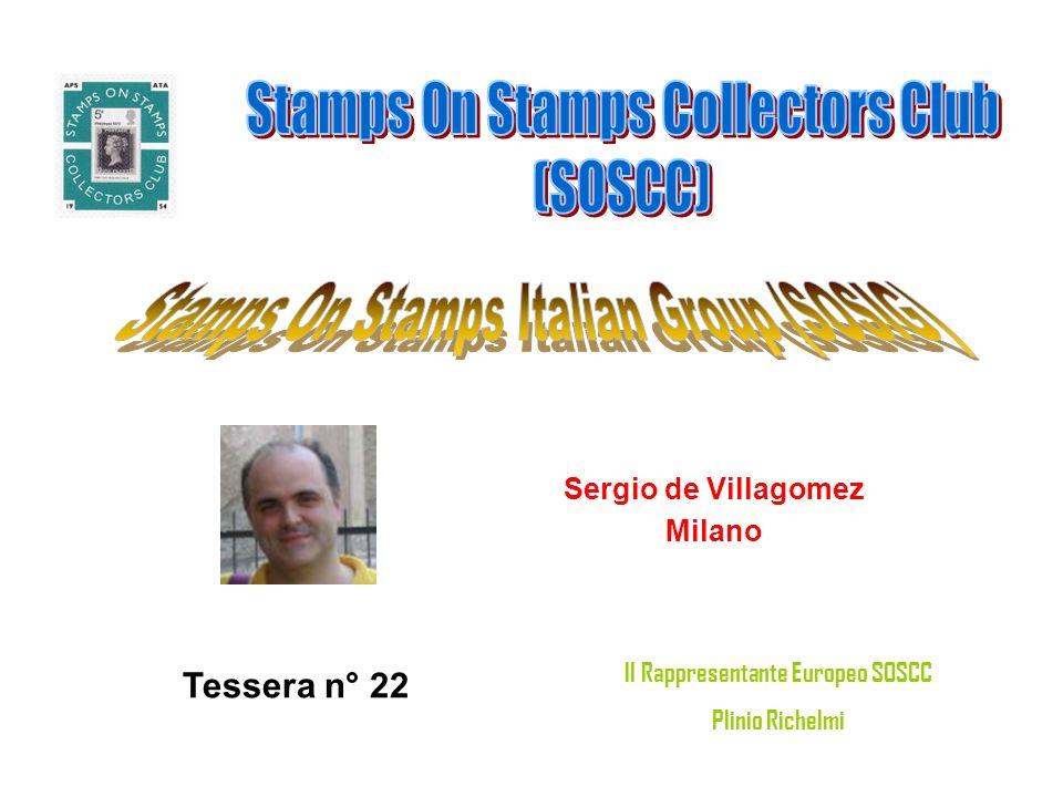 Massimiliano (filigrano) PALERMO Tessera n° 23 Il Rappresentante Europeo SOSCC Plinio Richelmi