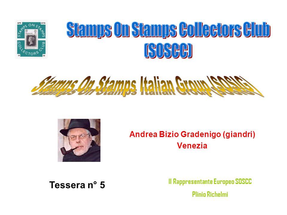 Alberto Fiorentini (fiore) Molinella (BO) Tessera n° 6 Il Rappresentante Europeo SOSCC Plinio Richelmi