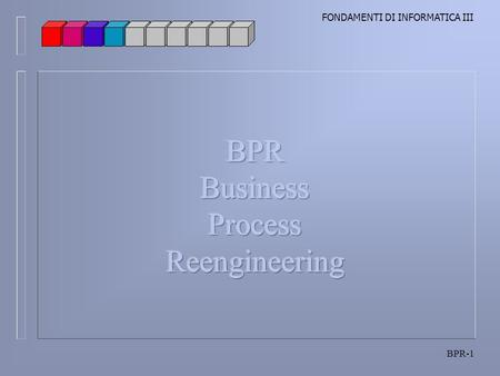 BPR Business Process Reengineering