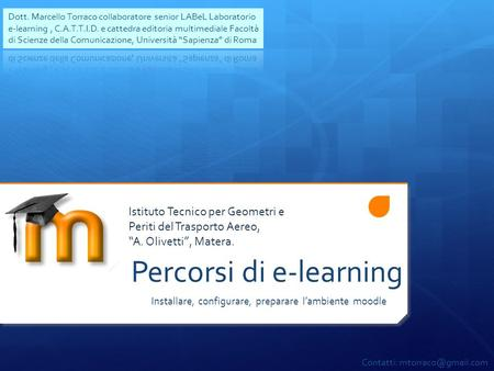 Percorsi di e-learning
