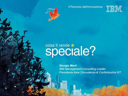 Giorgio Merli IBM Management Consulting Leader