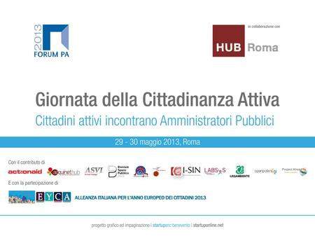I cittadini e lEuropa LOGO Project Ahead – Italian Social Innovation Network Marco Traversi.