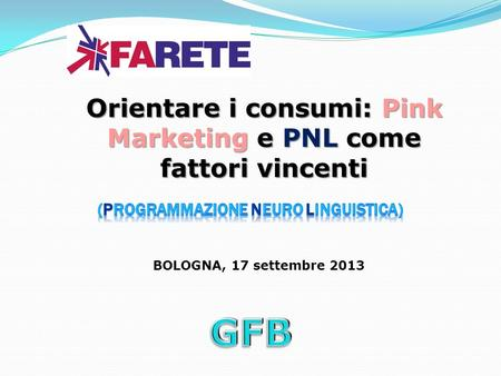 Orientare i consumi: Pink Marketing e PNL come fattori vincenti