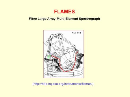 FLAMES Fibre Large Array Multi-Element Spectrograph (http://http.hq.eso.org/instruments/flames/)